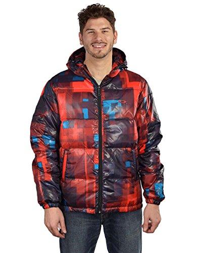 Oakley Men's AOP Down Puffer Jacket-Redline-XL