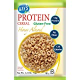 Kay's Naturals Protein Cereal, Honey Almond, Gluten-Free, Low Carbs, Low Fat, All Natural Flavorings, 1.2 Ounce (Pack of 6)