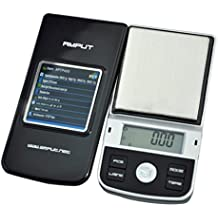 AMPUT Jewelry Gold Silver Coin Herb Pocket Digital LED Scale 100/0.01g 200/0.01g 500/0.1g (500G/0.1G)
