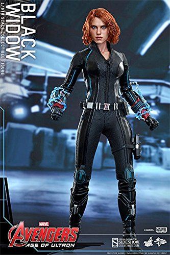 Movie Masterpiece Avengers/ The Age of Ultron Black Widow 1/6 Scale Plastice Painted Action Figure by Hot Toys