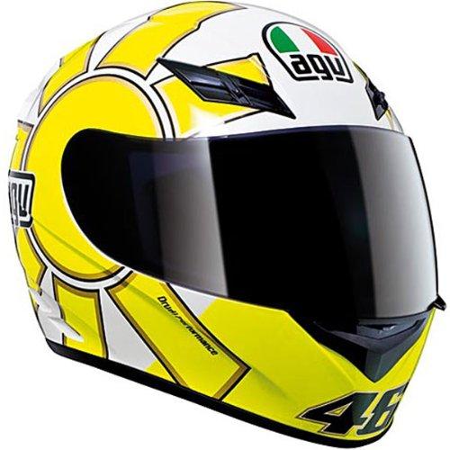 AGV K1 Helmet - Gothic (XX-Large) (Black/Yellow)