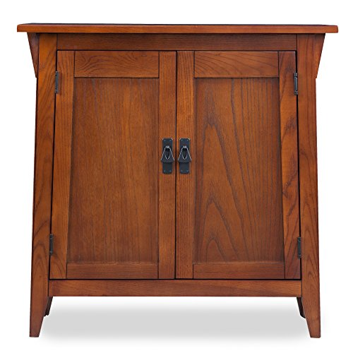 Leick Favorite Finds Storage Cabinet Hall Stand Oak