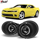 Winjet WJ30-0384-09 OEM Series for [2014-2015 Chevy Camaro] Clear Lens Driving Fog Lights + Switch + Wiring Kit