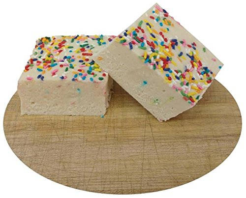 Home Made Creamy Vanilla Birthday Cake Fudge - 1 Lb Box