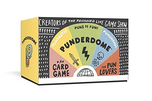 Punderdome: A Card Game for Pun - For Gift Top Women Cards