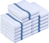 Utopia Towels 12 Pack Dish Towels 15 x 25 inches White Kitchen Towels, bar Towels and Tea Towels: more info