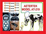 AETERTEK WATERPROOF RECHARGEABLE LCD DISPLAY REMOTE CONTROL 2-DOG TRAINING SHOCK COLLAR WITH BEEP,VIBRATION,SHOCK AND AUTO ANTI-BARK