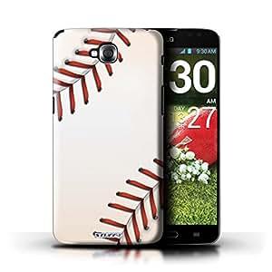 Kobalt® protector duro de nuevo caso / cubierta para el LG G Pro Lite/D680 | Béisbol Diseño | Bolas de los deportes colección