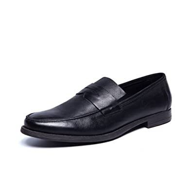 Business casual zapatos moda masculina/Viejos zapatos retros de Inglaterra-A Longitud del pie=25.8CM(10.2Inch) p6lY9zDaZ6