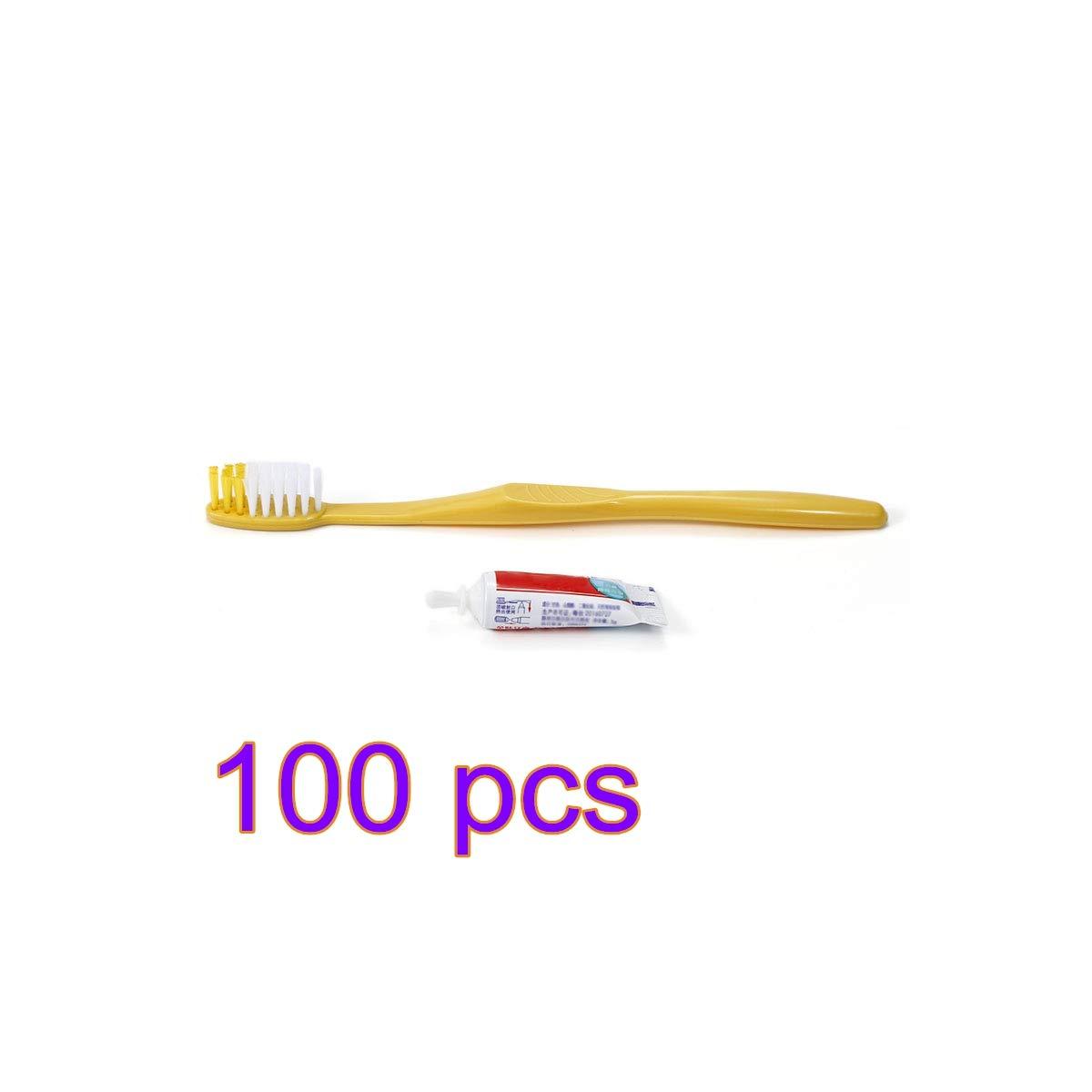 Pasta de dientes desechables envuelto individualmente para viajes (100 unidades): Amazon.es: Salud y cuidado personal