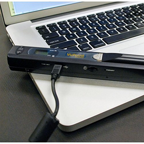 Magic Wand VuPoint Portable Scanner with Carrying Case & 4GB MicroSD Card by Magic Wand (Image #7)