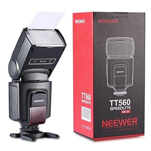NEEWER 一眼レンズカメラ用 TT560 フラッシュ・スピードライト 2個セット