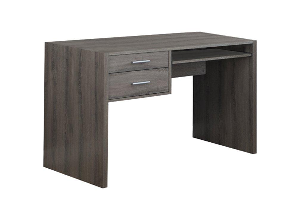 Monarch Hollow Core 3 Piece 48 Shaped Desk Set In White