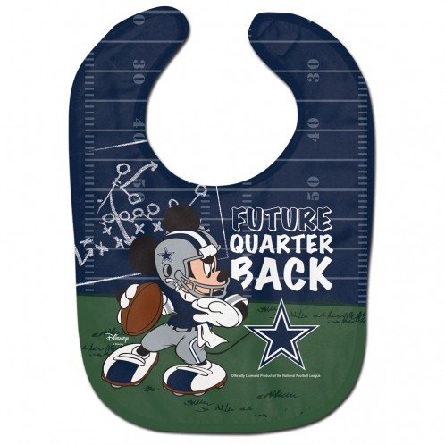 WinCraft NFL Dallas Cowboys All Pro Style Baby Bib, One Size, Team Color]()