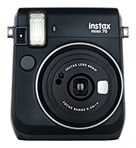 Fujifilm Instax Mini 70 - Instant Film Camera (Black)