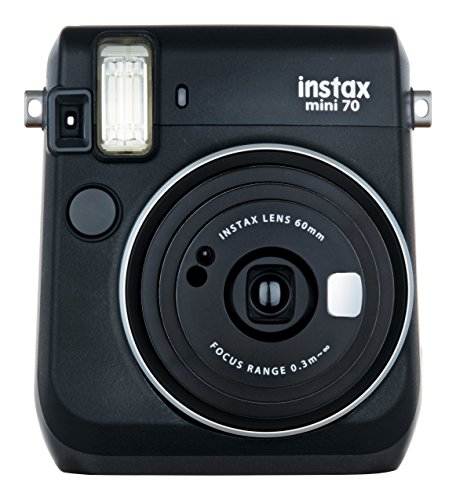 Fujifilm Instax Mini 70 – Instant Film Camera (Black)