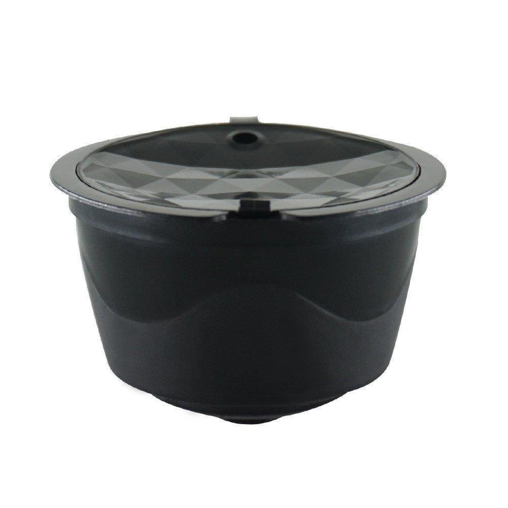 Fenleo 詰め替え可能 コーヒーカプセル 再利用可能 コーヒーポッドフィルター Nescafe Dolce Gusto用  ブラック B07FC8VLYP