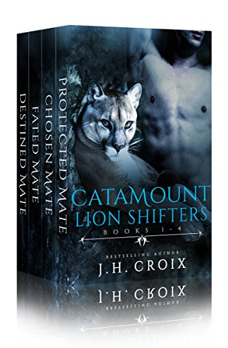 Catamount Lion Shifters, Paranormal Romance: Books 1 - 4 by [Croix, J.H.]
