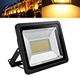 LED Flood Light,200W 20000lm 2800-3500K Warm White,IP65 Waterproof,Aluminium Strahler 110V Outdoor Super Bright Security Lights,Stadium Lights for Garden,Garage,Warehouse,Square,Billboard,Factory