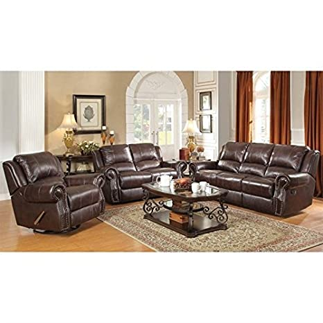 Enjoyable Amazon Com Coaster Rawlinson Faux Leather Motion Reclining Home Interior And Landscaping Palasignezvosmurscom