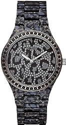Guess Women's U0015l1 Sporty Animal Trend Leopard-print Watch