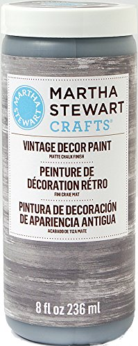 Martha Stewart Crafts Vintage Decor Paint in Assorted - Chalk And Charcoal