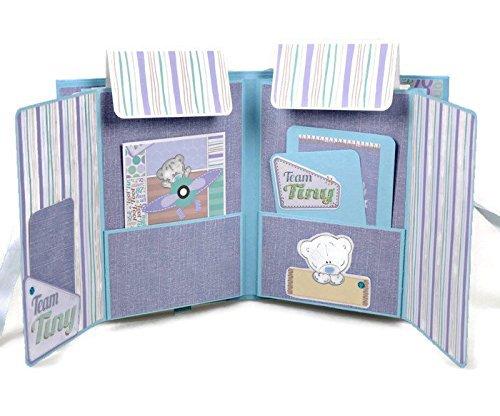 Amazoncom Kristabella Creations Baby Boy Scrapbook Album Baby
