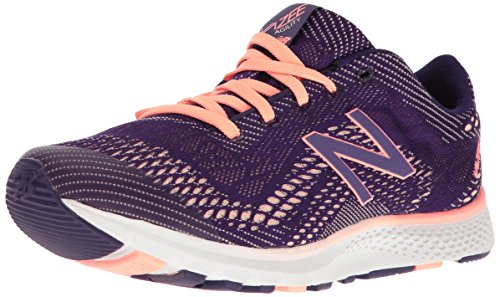 New Balance Women Vazee Agility V2 Cross Trainer Black Plum/Bleached Sunrise