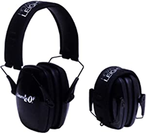 Howard Leight Leighting Noise Blocking Folding Earmuffs