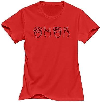 Joom Ts Dolan 99 Twins Camiseta Para Mujer Rojo X Large Amazon Es Ropa Y Accesorios