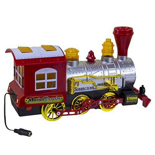 AbleNet 30000036 Switch Adapted Bump-N-Go Bubble Train, Realistic Train Sounds and Plays Music, Bump-n-go Technology, Container Of Bubble Juice Included