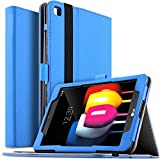 Galaxy Tab S4 9.7 SM-T835 Case - kuGi Multi-Angle Stand Slim-Book PU Leather Cover Case for Samsung Galaxy Tab S4 9.7 SM-T835 tablet(9.7 inch)(Blue)