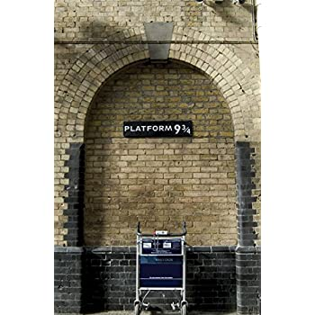 JP London SPMUR0058 Peel U0026 Stick Removable Wall Mural Harry Platform 9 3/4  Potter
