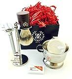 Braun Series 9 9095cc Price - ZEVA Rassage DE Safety Premium Shave Shaving Set Soap Bowl Brush Kit Men Gifts
