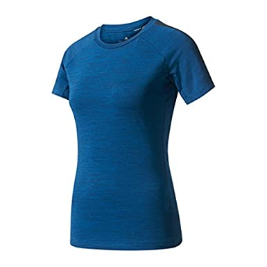 Amazon.com: adidas Women s bk2672 frelift Tee, azul, S ...