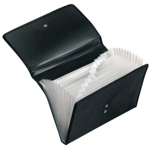 Veloflex 4445880 Fächermappe Office DIN A4 12 Fächer mit Taben, mit Magnetverschluss