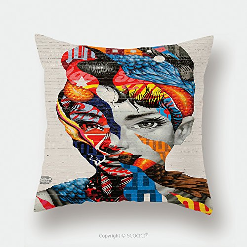 Custom Satin Pillowcase Protector New York February 26, 2015 Mural Art Audrey Of Mulberry By Tristan Eaton In Little Italy_37082125 Pillow Case Covers Decorative by chaoran