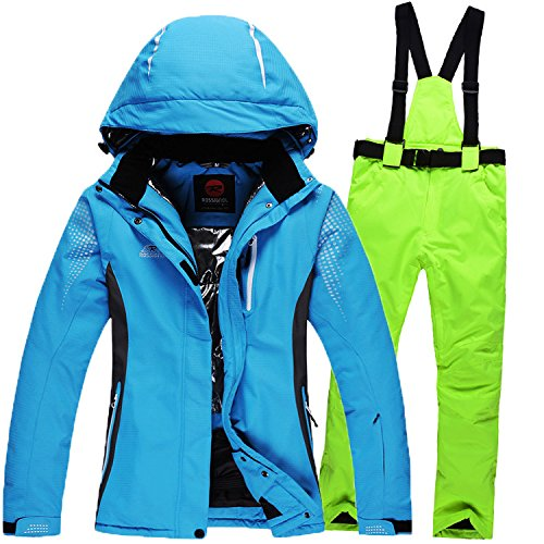 Ski Zipper Coat Jacket Men Blue Green Women Pants Waterproof Warm FYM Suit JACKETS Windproof DYF Wf7nqYIFX