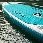 Tbaobei-Baby-Stand-Up-Paddle-Board-Gonfiabile-Soft-Top-Stand-Up-Tre-Pinne-Bordo-di-Pala-6-Pollici-di-Spessore-SUP-Pacchetto-con-Pala-Regolabile-Color-Blue-Size-320x84x15cm