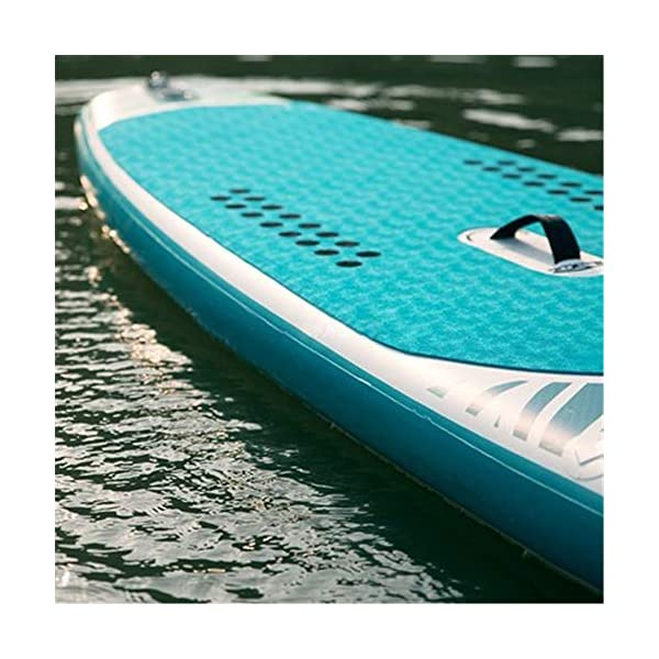 Kanqingqing-Sport Stand Up Paddel Gonfiabile Soft Top Stand Up Paddle Tre Pinne Consiglio SUP Pacchetto con Pala… 3 spesavip