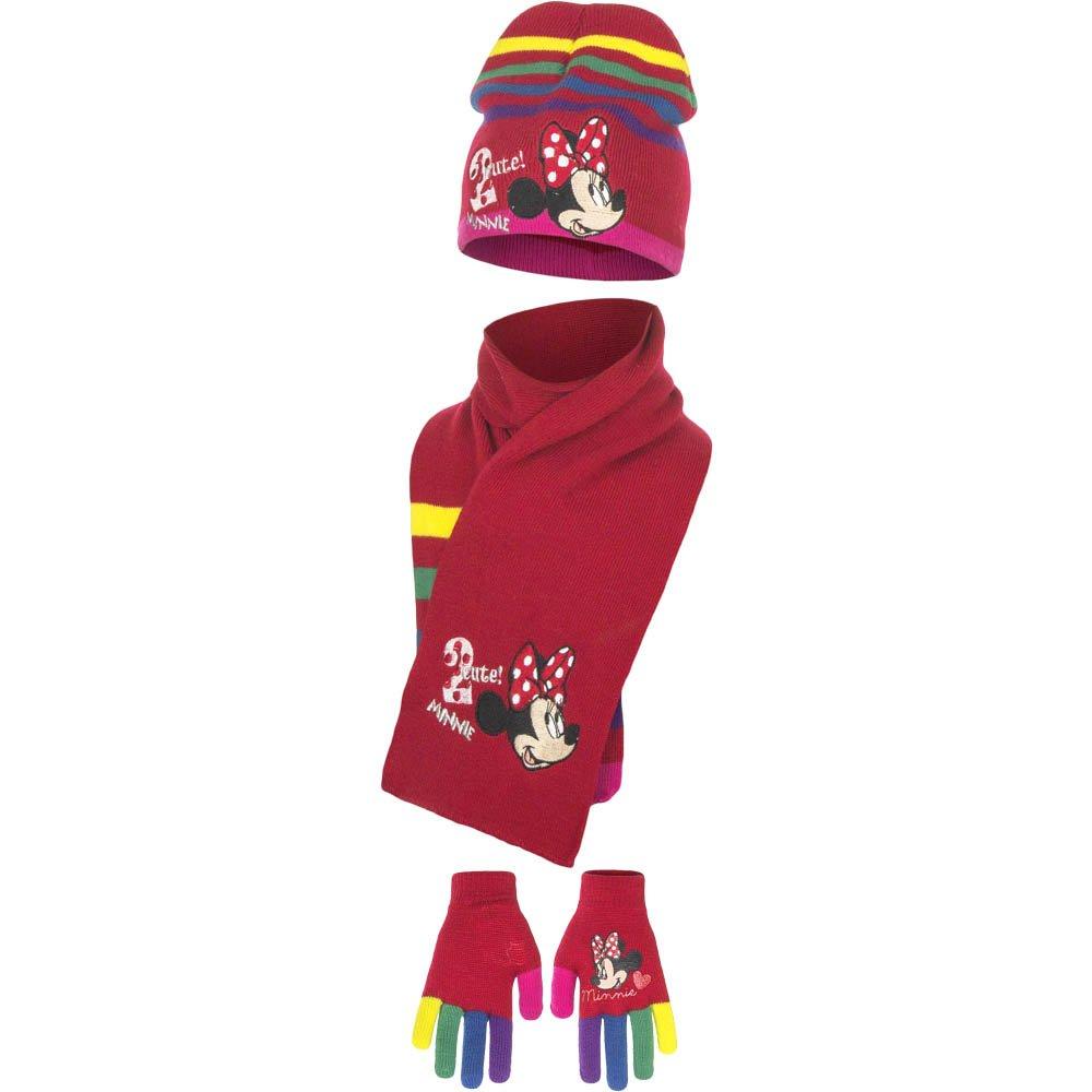 Minnie, 3 pezzi, Set di cappello, guanti e sciarpa