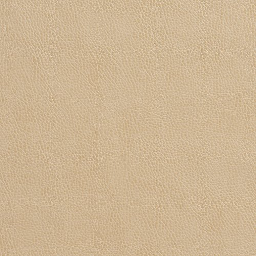 G551 Beige Upholstery Grade Recycled Leather (Bonded Leather) by The Yard -