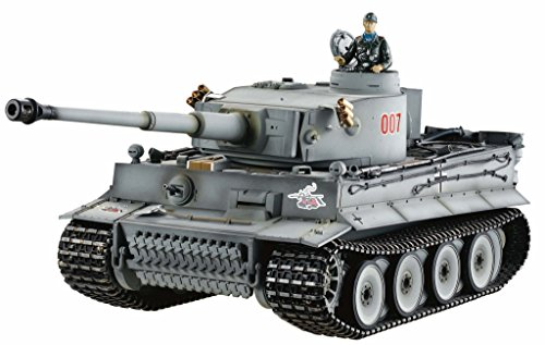 Best Selling 2.4Ghz Digital Remote Control 1/16 German Tiger 1 Advance Metal Upgrade Tank w/Sound  Smoke