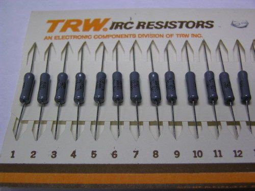 Type Trw (50 Vintage TRW / IRC Type CCB RNC65 2K 1% Precision Resistors)