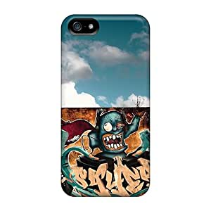 Iphone Cover Case - Graffiti Wall Art Protective Case Compatibel With Iphone 5/5s