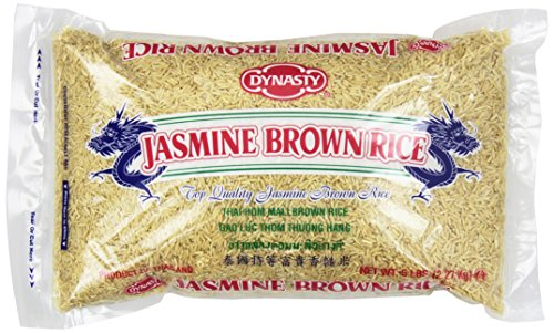 Dynasty Jasmine Brown Rice, 5 Pound (Pack of 6)