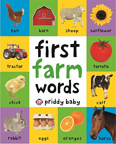 Your little one will love to discover farm animals, machinery, and everyday farm objects inside this colorful board book. There are lots of photographs to look at and talk about, with labels to read and learn, too. The pages are made from tough board...