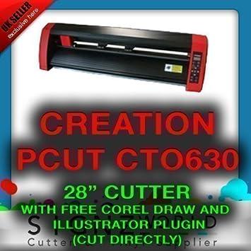Buena calidad creación PCUT cortador de vinilo Plotter de Corte/cto63028inch: Amazon.es: Electrónica