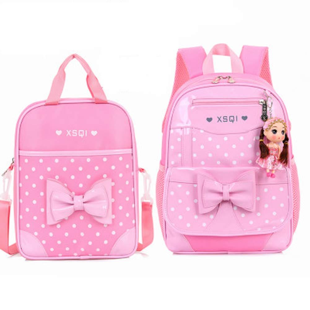 使い捨てショルダーバッグpuレザーバッグ女性のバッグかわいいバックパック使い捨て B07QGDGGF4 Pink M1