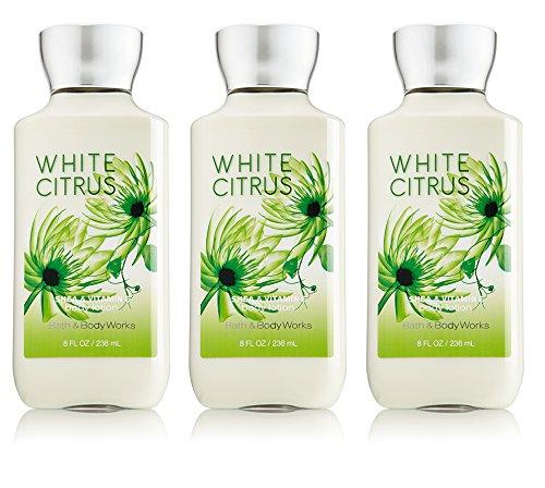 Lot of 3 Bath & Body Works White Citrus 8.0 oz Body - Body Citrus Lotion White